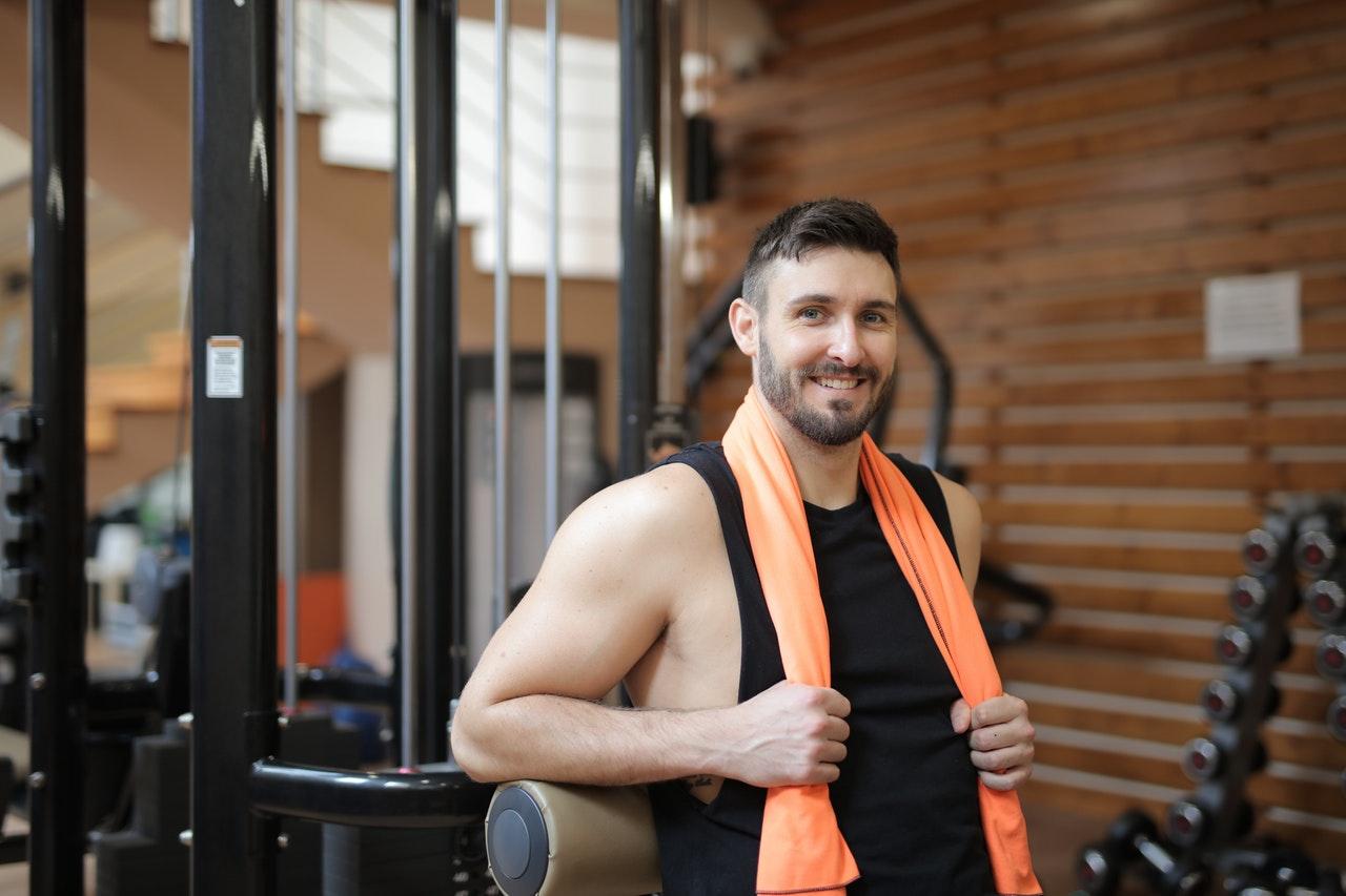 Roofer at a Gym